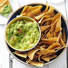 Catherine's Guacamole Recipe -Get the scoop on making a standout guacamole. A handful of chopped celery adds some fun crunch in this avocado dip—everyone's favorite fiesta starter. —Catherine Cassidy, Milwaukee, Wisconsin