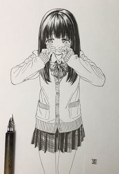 Cute anime girl