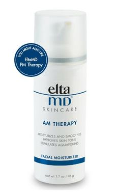 EltaMD AM Therapy Facial Moisturizer. My favorite moisturizer. It won't make you break out, it has anti-aging ingredients, and you can buy it for less on Amazon.