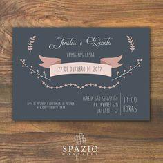 Convite de Casamento Aquarela | Download Grátis - Editavel