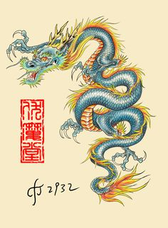 24 Ideas For Tattoo Dragon Japones Deviantart Chinese Dragon Art, Japanese Dragon Tattoos, Chinese Art, Geisha Tattoos, Irezumi Tattoos, Dragon Tattoo For Women, Dragon Tattoo Designs, Arrow Tattoo, Tattoo Art