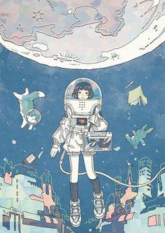 Choose from the best wallpaper collection! Fantasy Sketch, Fantasy Art, Cartoon Kunst, Cartoon Art, Pretty Art, Cute Art, Aesthetic Art, Aesthetic Anime, Aesthetic Drawings