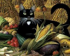 charles wysocki art | Charles Wysocki - Monty, Minding the Store | country art