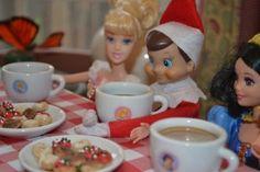 Elf on the Shelf : Tea Party