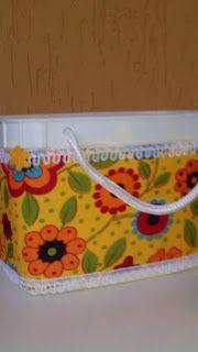 Rosângela Vig Artesanato e decoração: Potinhos amarelos decorados 5,00 cada