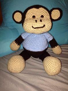 Jake the Playful Monkey - Free Pattern