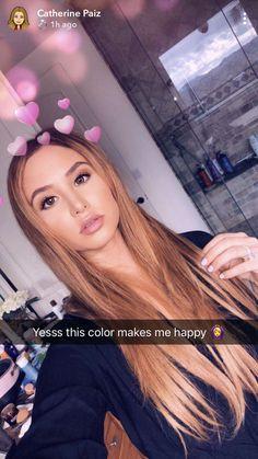 Catherine Paiz is soooooo cute Hair Inspo, Hair Inspiration, Ace Family Wallpaper, Shave Designs, Austin And Catherine, Stephen James Model, Catherine Paiz, Full Face Makeup, Cute Family