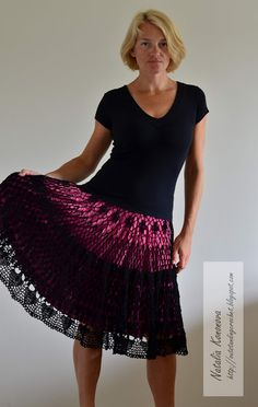 Crochet Sobresaliente: falda de ganchillo
