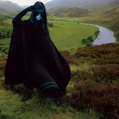 Edie Campbell by Inez and Vinoodh for T Style Womens Fall Fashion 2015