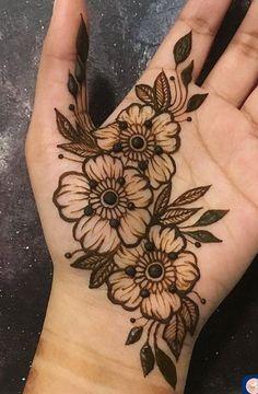 Mehndi Henna Hand Designs, Dulhan Mehndi Designs, Mehndi Designs Finger, Modern Henna Designs, Henna Tattoo Designs Simple, Basic Mehndi Designs, Floral Henna Designs, Mehndi Designs For Beginners, Mehndi Designs For Girls