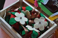 Fragole in pannolenci con all'interno chiodi di garofano o altre spezie,per profumare armadi cassetti o ambienti della casa : Accessori casa di shop-azienda-agricola-i-piccoli-frutti