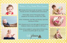 Promo | Mother's Day Mini Session