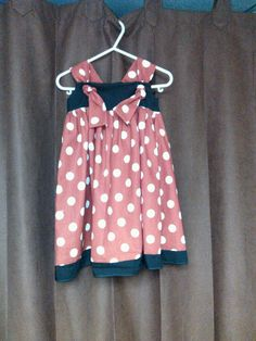 Mouse knot dress by tutus2trains on Etsy, $35.00