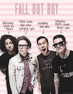 1k MY EDIT fall out boy i like it though edit:fob this is ...