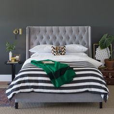As a wardrobe staple, or bedding, stripes are foolproof.