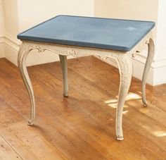 A Louis XV gray-painted card table mid-18th century | $1.2K