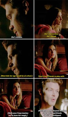 "#TheOriginals 4x07 ""High Water and a Devil's Daughter"" - Klaus and Hayley"