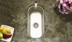 "Houzer CS-1105-1 Undermount 9-5/16"" Club Bar/Prep Sink Series"