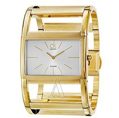CALVIN KLEIN Women's Dress X Watch K5921220 $99 @ Ashford