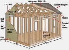 12,000 Shed Plans and Parpentry Designs