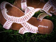 Make your own baseball sandals and come watch the 'Dogs in the MW tourney Baseball Live, Baseball Shirts, Baseball Outfits, Baseball Field, Softball Crafts, Softball Mom, Softball Stuff, Thing 1, Sports Mom