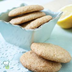 Lemon Yogurt Cookies : At just 65 calories per cookie, you can have two of these sweet treats for the same number of calories as a single chocolate chip Toll House cookie.