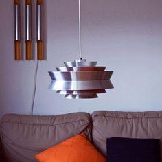Carl Thore Pendant Lamp Orange, 450€ OldAndCold Vintage Scandinavian Treasures