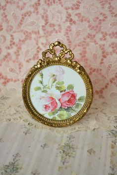 Gorgeous Antique French Ormolu Picture Frame