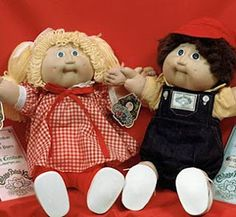 Cabbage Patch Kids  Year: 1982, the year I was born :)