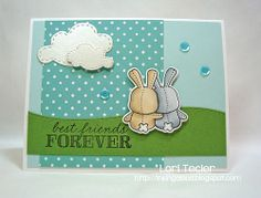 Best Friends Forever-designed by Lori Tecler/Inking Aloud-stamps from Mama Elephant