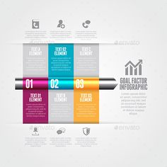 Goal Factor Infographic Template #design Download: http://graphicriver.net/item/goal-factor-infographic/9639681?ref=ksioks