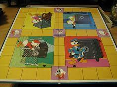 Walt Disney's Uncle Scrooge Lost Money Game | Image | BoardGameGeek