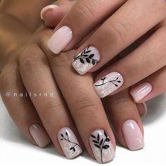 38 Best Winter Nail Art Ideas Fashion and Glorious Trends 2019 – Nails art Nail Art Cute, Cute Nails, Pretty Nails, Winter Nail Art, Winter Nails, Pink Nails, My Nails, Semi Permanente, Exotic Nails