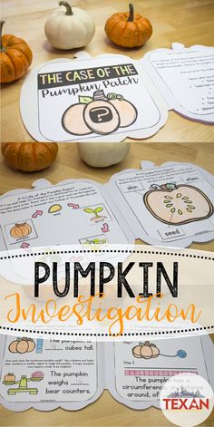 Are your students ready to join the ranks of the infamous Pumpkin Patch Police Patrol (P-4)? Guide students through an exploration and investigation of all things pumpkins! Bring science, math, and art together in this cross-curricular resource. Includes activities for measuring weight, height, circumference, sink/float test, seed estimating and counting, seed tasting, parts of a pumpkin, pumpkin life cycle, and more!
