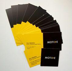 Tear and Share Biz cards: Motive