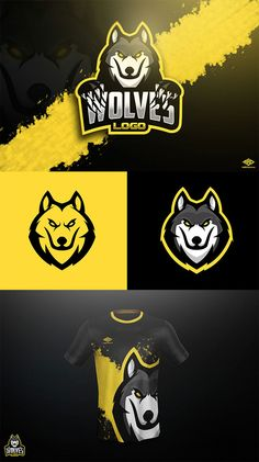 Wolves Mascot by Marko Berovic