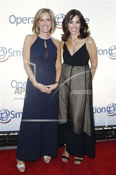 with my friend Alisyn Camerota at the Operation Smile 2014 Gala  Lisa Lori