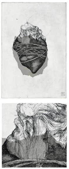 Etchings for Poe by Simon Prades