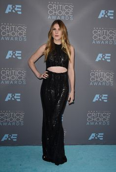 All The Looks On The Critics' Choice Awards Red Carpet_Lily Rabe