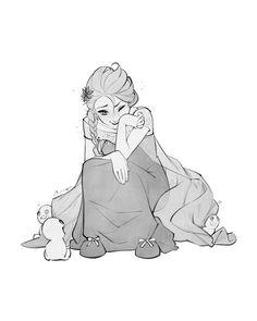 Sketch - Elsa by charlestanart on DeviantArt Walt Disney, Disney Magic, Disney Frozen, Elsa Frozen, Disney Fan Art, Disney Love, Disney And Dreamworks, Disney Pixar, Disneyland Princess