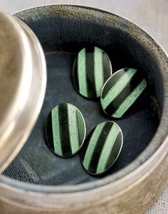 Love these antique cufflinks