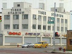 Bennett Park/Navin Field/ Briggs Stadium/Tiger Stadium At the corner of Michigan and Trumbull southwest of downtown Detroit. Where I saw my first Tigers Baseball game! Michigan Travel, State Of Michigan, Detroit Michigan, Travel Oklahoma, Detroit Sports, Detroit Tigers Baseball, Cubs Baseball, Baseball Caps, Chicago Cubs