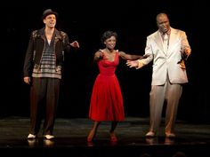 Memphis on Broadway! The music and dancing will blow you away.