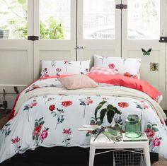 床品套件 100%棉 活性印花 妍红 四件套