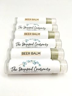 The Product: After a hard day, sometimes you just need the comfort of a cold beer - and now that comfort comes in a lip balm! Weve packed all that beer goodness into a tiny little tube. Introducing BEER BALM, an organic lip balm from The Dogwood Company. Our Beer Balm features