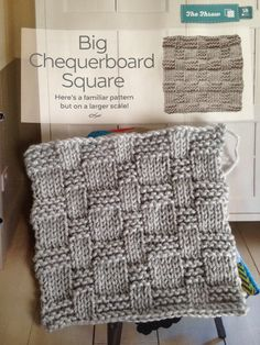 Issue 17 - Big chequerboard square