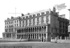 Plymouth, Grand Hotel 1889, from Francis Frith