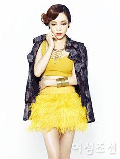 Brown Eyed Girls Ga In - Woman Chosun Magazine September Issue '12