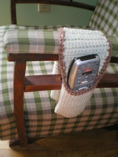 Crocheted Remote Control Holder