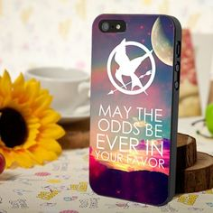 May the odds be ever in your favor.  #Mockingjay #custom #phonecase